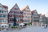 Street view of Tubingen old town, Germany — Stock Photo