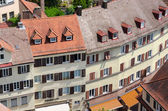 Aerial view of Tubingen old town, Germany — Stock Photo