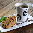 Cookies and coffee — Stock Photo #21000325