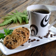Cookies and coffee — Stock Photo #21000355