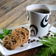 Cookies and coffee — Stock Photo #21000377