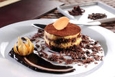 Chocolate pie — Stock Photo