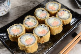 Japanese food - Sushi — Stock Photo