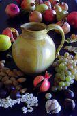 Sonbahar meyve suyu sürahisi — Stok fotoğraf