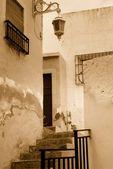 Roh ulice ve španělsku — Stock fotografie
