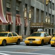 New York city taxis — ストック写真