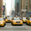 New York city taxis - Stock Photo