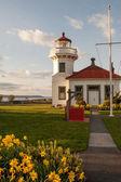 Mukilteo lighthouse — Stock Photo