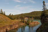 Whitehorse rapids — Stock Photo