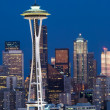 Seattle panorama — Stock Photo