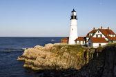 Głowa latarnia morska w portland — Zdjęcie stockowe