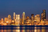 Seattle at night — Stock Photo