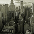 Stock Photo: View of Manhattan