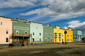 Hotel in Dawson city — Stock Photo