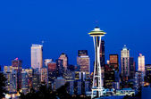 Seattle cityscape — Stock Photo