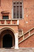 Medieval Jagiellonian University, Collegium Maius, Krakow, Poland — Stock Photo