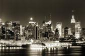 Manhattan panorama — Stock Photo