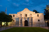 Alamo at twilight — Stock Photo