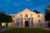 Alamo at twilight — Stock Photo