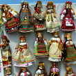 Ukrainian dolls — Stock Photo