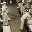 Stock Photo: Production line