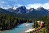 Canadian Pacific railway — Stock Photo