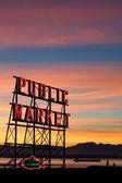 Seattle Pike Place Market — Stock Photo