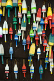 Colorful buoys — Stock Photo