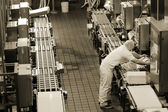 Production line — Stock Photo