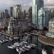 Stock Photo: Vancouver downtown