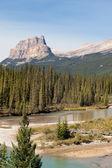 Mcdonald ' s do lago no parque nacional glacier — Foto Stock