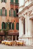 Venetian restaurant — Stock Photo