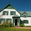 Green gables — Stock Photo
