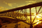 Deception Pass Bridge — Stock Photo