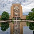 Stock Photo: Hesburgh Library of University of Notre Dame