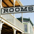 Sign for available rooms — Foto Stock #34836683