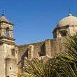 Historical mission San Jose y San Miguel de Aguayo — Stock Photo