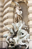 "Sculpture fountain ""Power of sea"" — Stock Photo"