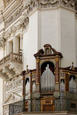 Organ inside Dom Cathedral — Stock Photo