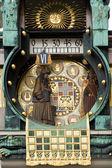 Ankeruhr Vienna Clock — Stock Photo