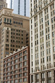 Highrises on Michigan Avenue — Stock Photo