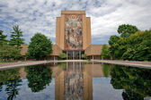 Hesburgh Library of University of Notre Dame — Stock Photo