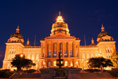 State Capitol in sunset — Foto Stock