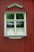 Typical Finnish window — Foto de Stock