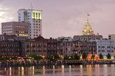 Savannah cityscape — Stock Photo