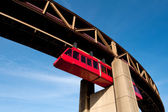 Memphis monorail — Stock Photo