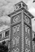 The Old Main clock tower — Stock Photo
