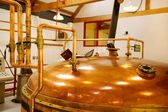 Whisky distillery — Stock Photo
