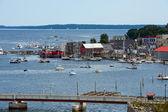 Coastal town — Stock Photo
