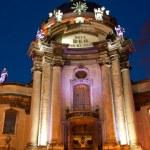 Dominican church in historical Lviv — Stock Photo #48579151